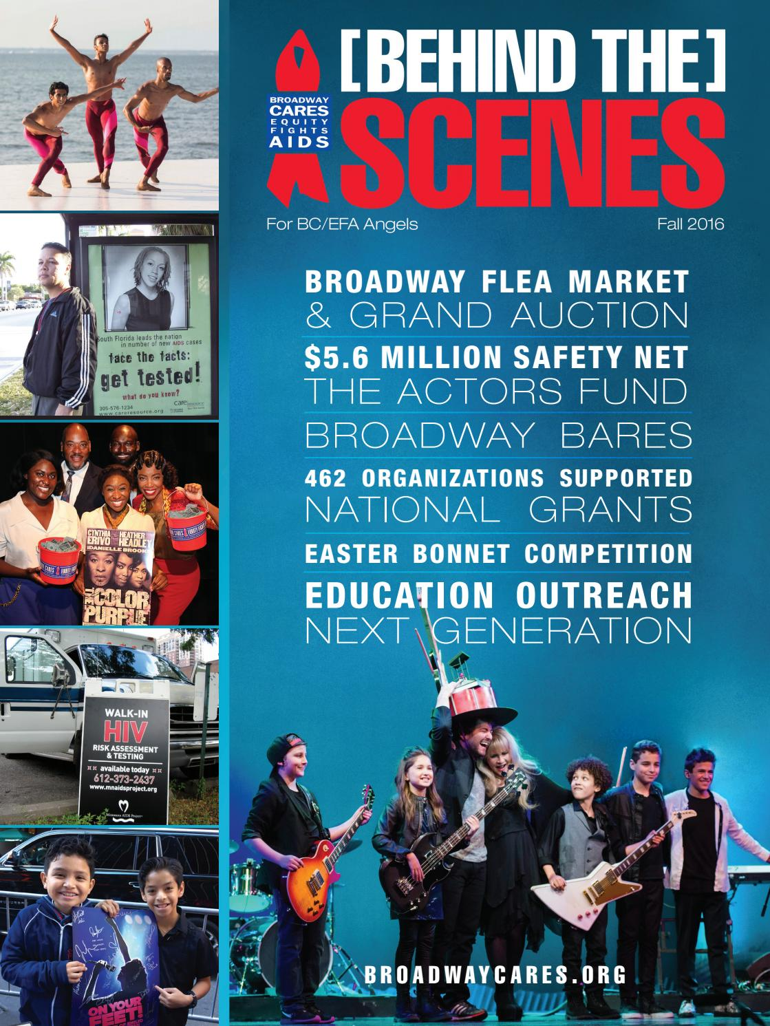 Behind the Scenes Fall 2016 by Broadway Cares/Equity Fights AIDS - issuu