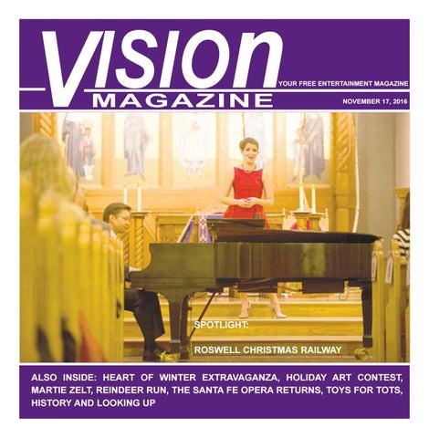 Illuminating Nativity On Tokay >> Vision Magazine November 17 2016 By Roswell Daily Record Issuu