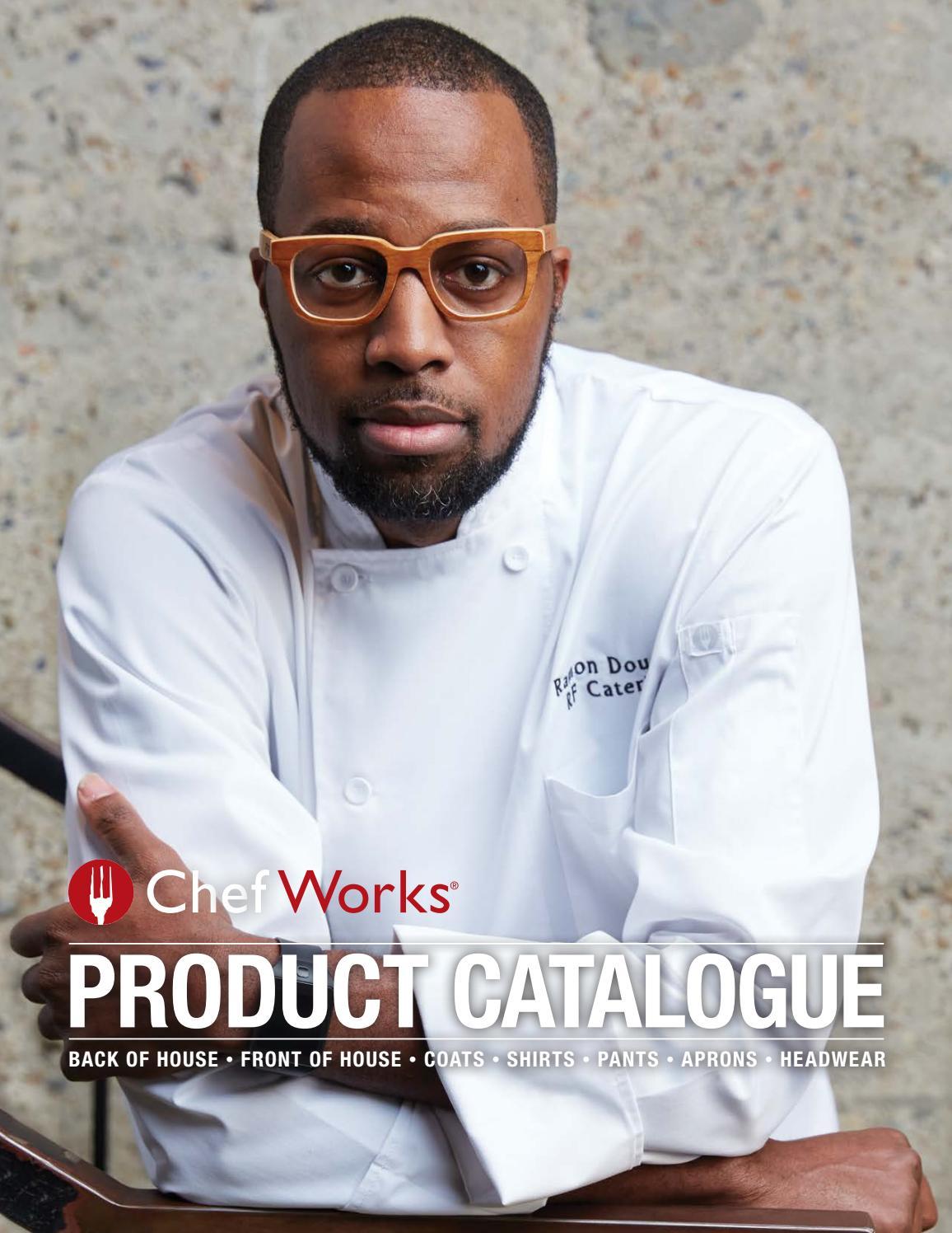 Chef Works Unisex Capri Premium Cotton Chef Coat