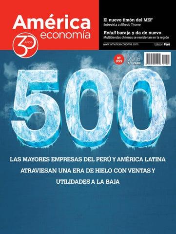 Ae 099 PERU by AméricaEconomía - issuu 9a2ea897773