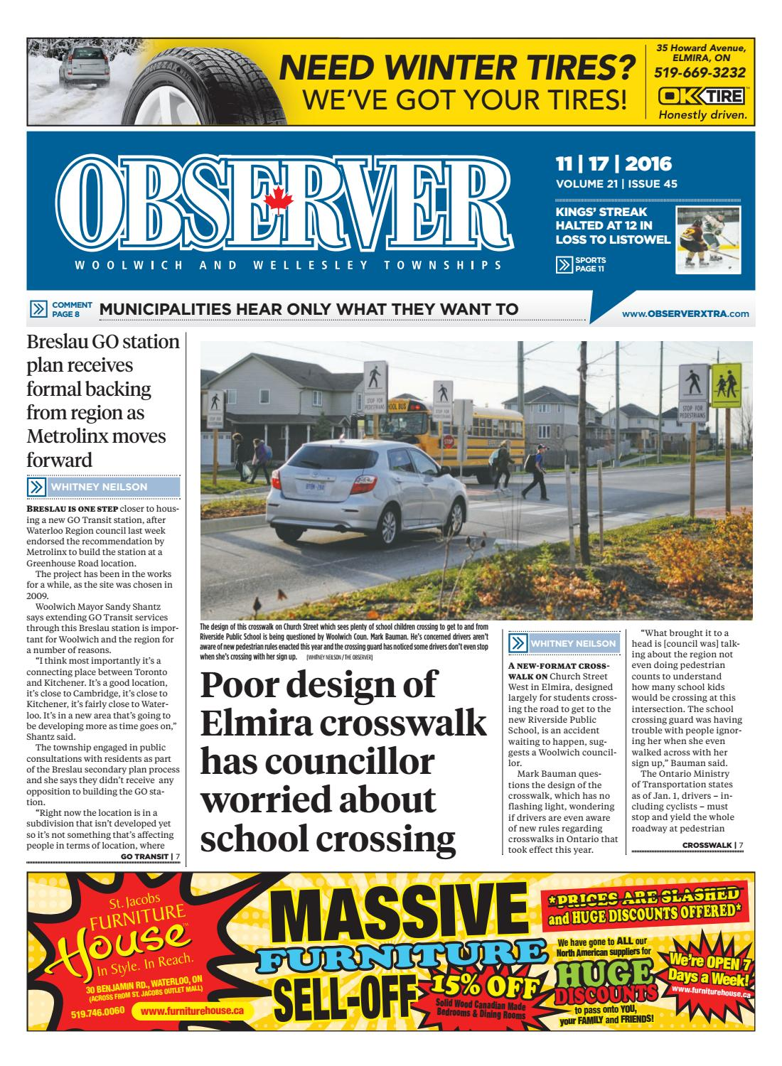 545314d0 November 17, 2016 by Woolwich Observer - issuu