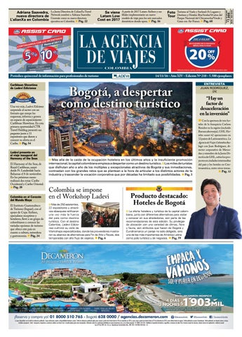 3dda4d280ab67 La Agencia de Viajes Colombia N° 210 by Ladevi Media   Solutions - issuu