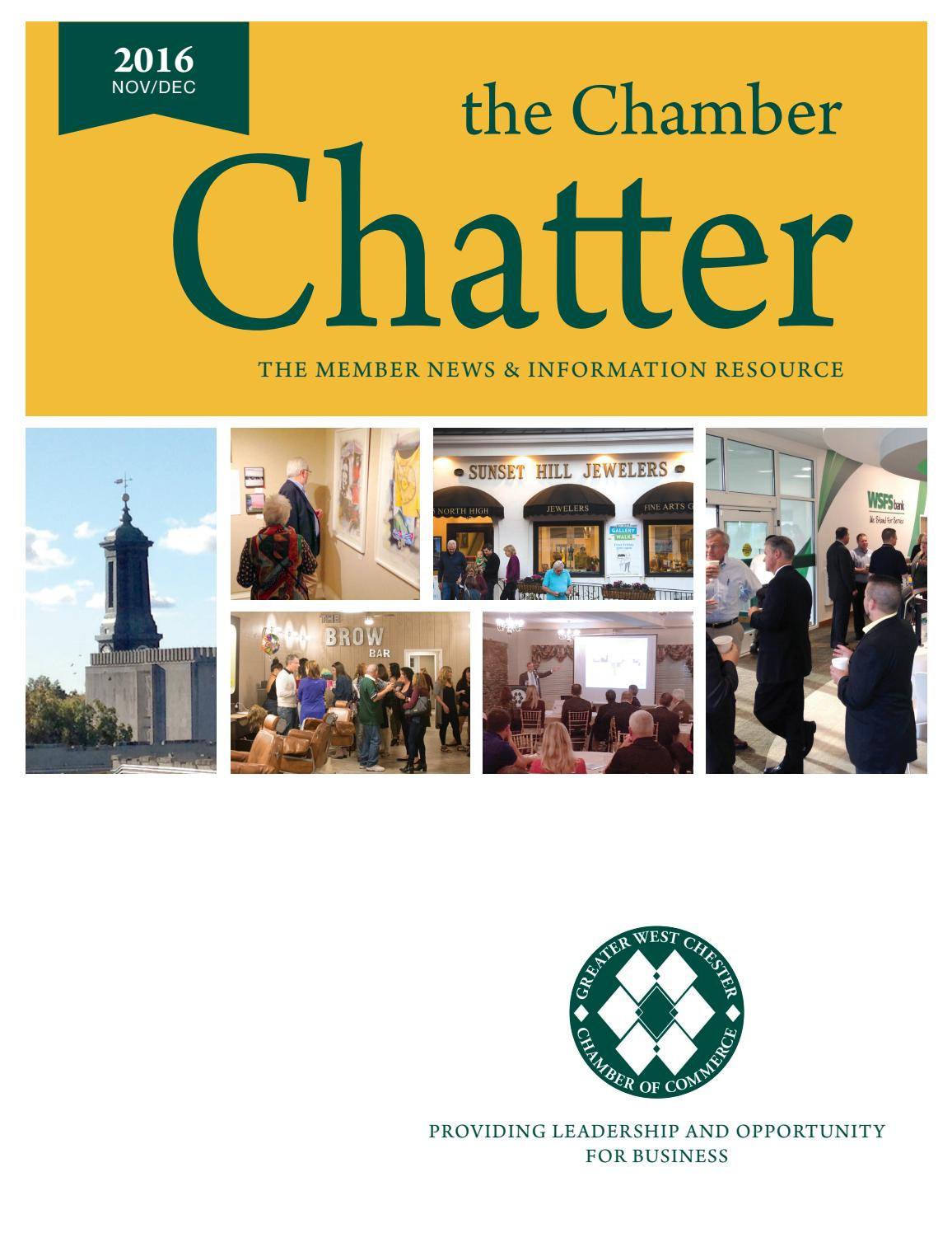 chamber chatter nov dec 2016 by greater west chester chamber of commerce issuu. Black Bedroom Furniture Sets. Home Design Ideas