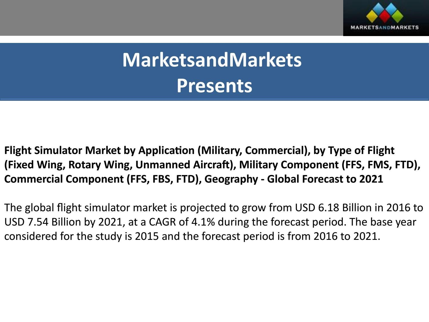 Flight Simulator Market by Application (Military, Commercial