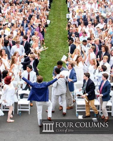 Four Columns: Class of 2016 by Episcopal High School - issuu