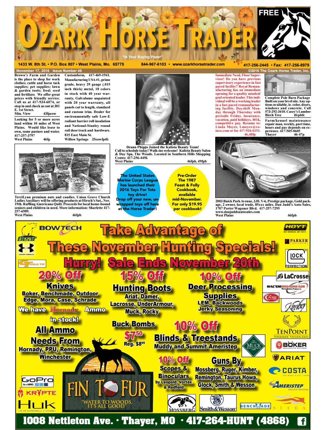 Issue 46 by Ozark Horse Trader - issuu 3477a69565d8