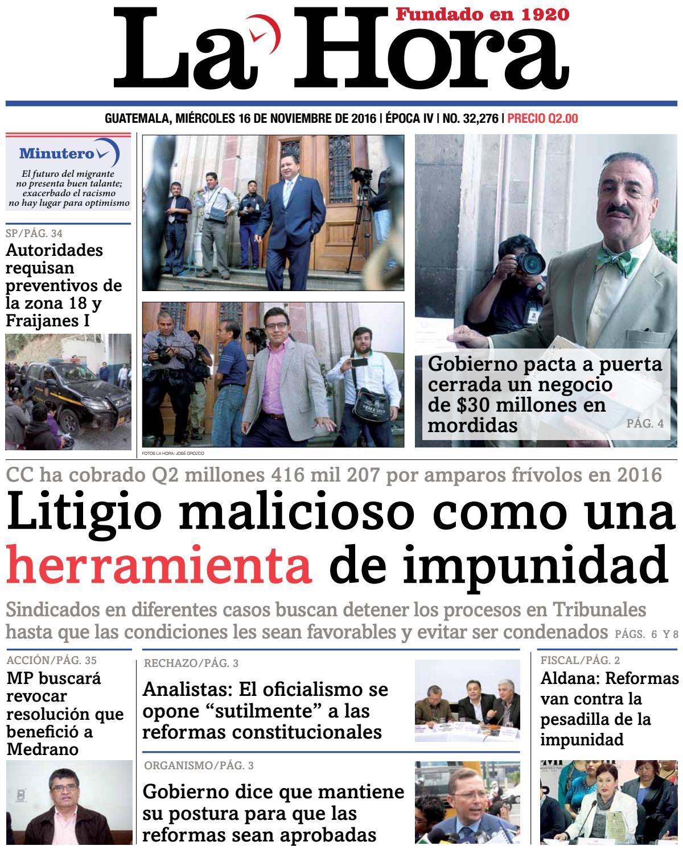 La Hora 16-11-2016 by La Hora - issuu