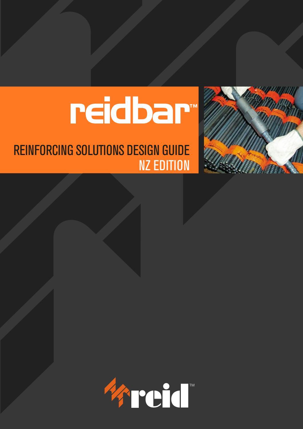 reidbar u2122 design guide by ramsetreid