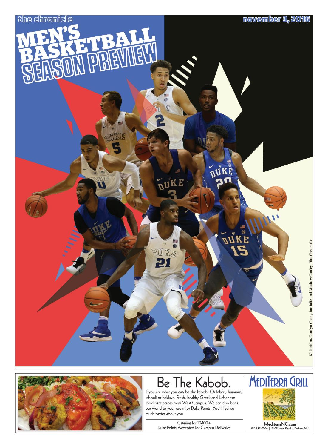 Men's ACC Basketball Preview 2016 by Duke Chronicle - issuu