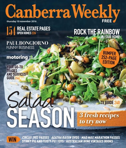 00ce6af6ecf1 10 November 2016 by Canberra Weekly Magazine - issuu