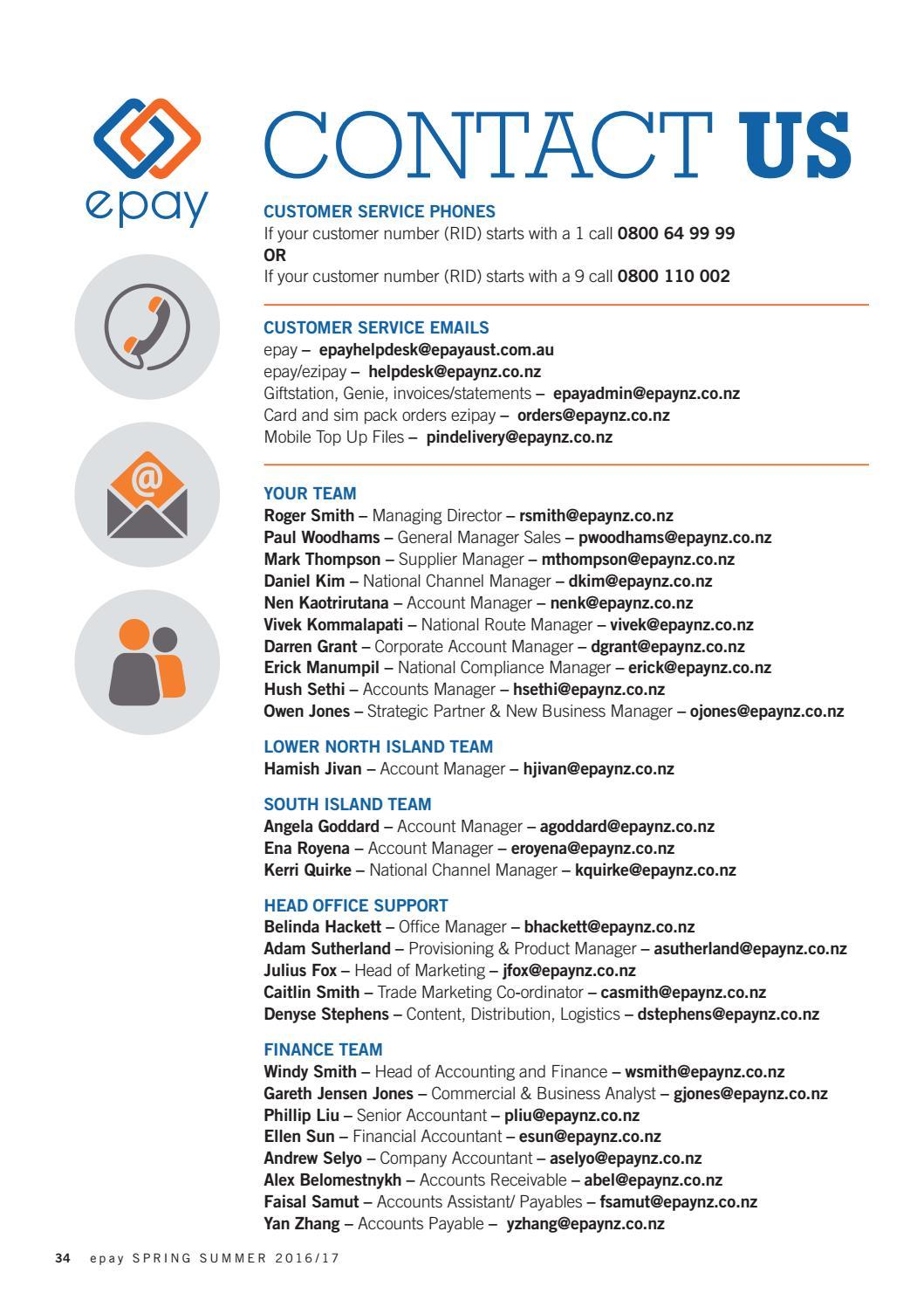 epay world NZ spring-summer 2016-2017 by The Intermedia