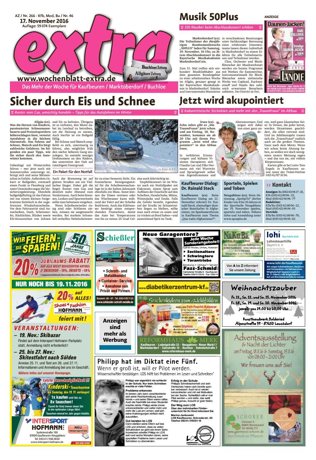extra Kaufbeuren vom Donnerstag, 17. November by rta.design GmbH - issuu