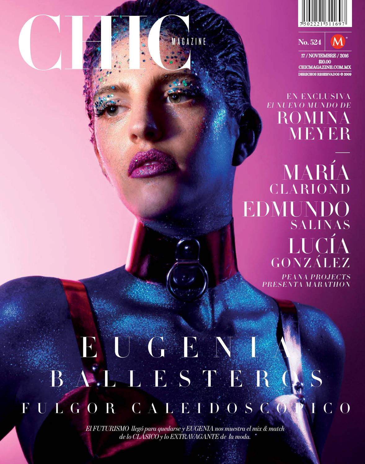 Chic Magazine Monterrey, núm. 524, 17/nov/2016 by Chic Magazine ...