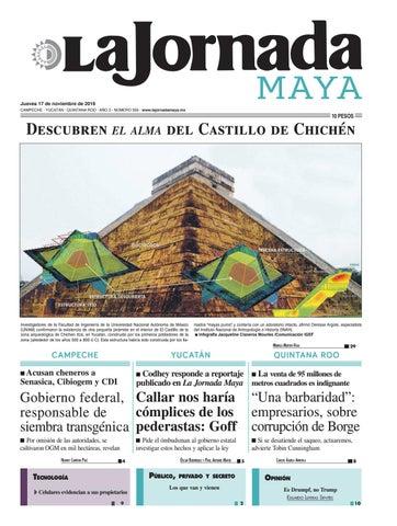 La Jornada Maya · jueves 17 de noviembre, 2016 by La Jornada Maya ...