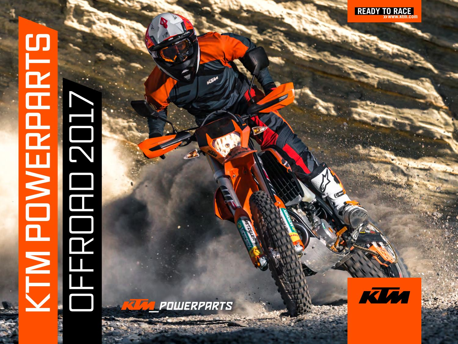 KTM PowerParts Offroad 2017 USA by KTM GROUP - issuu