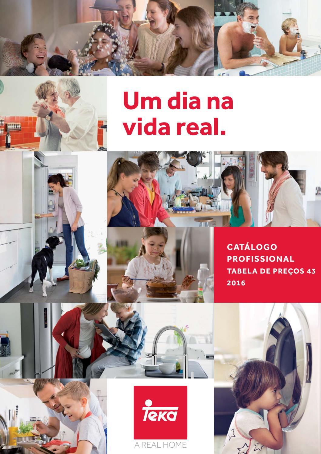 Cat logo profissional teka 2016 by teka portugal issuu - Catalogo de teka ...
