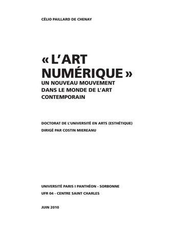 L Art Numerique Un Nouveau Mouvement Dans Le Monde De L Art