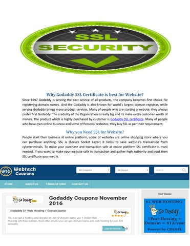 Godaddy Coupons and promo codes by stephensmith - issuu