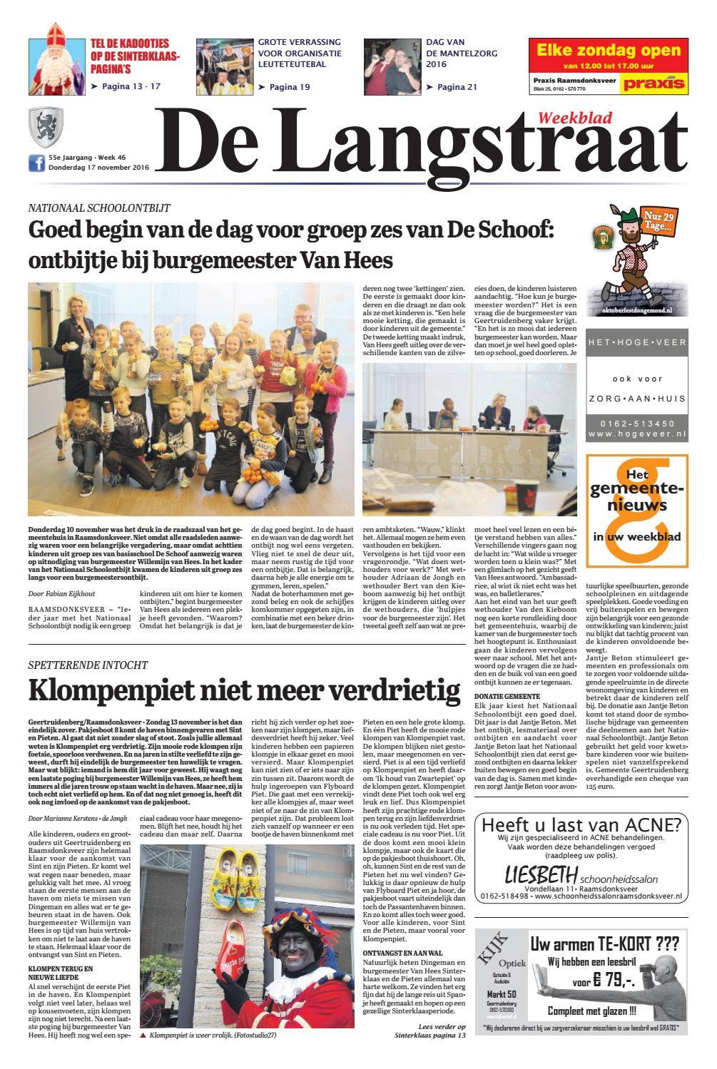 De Langstraat 17 11 2016 By Uitgeverij Em De Jong Issuu