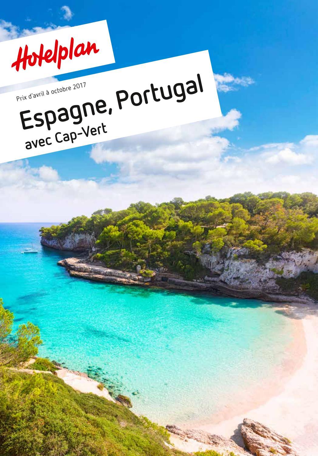liste de prix hotelplan espagne portugal d 39 avril octobre 2017 by hotelplan suisse mtch ag. Black Bedroom Furniture Sets. Home Design Ideas