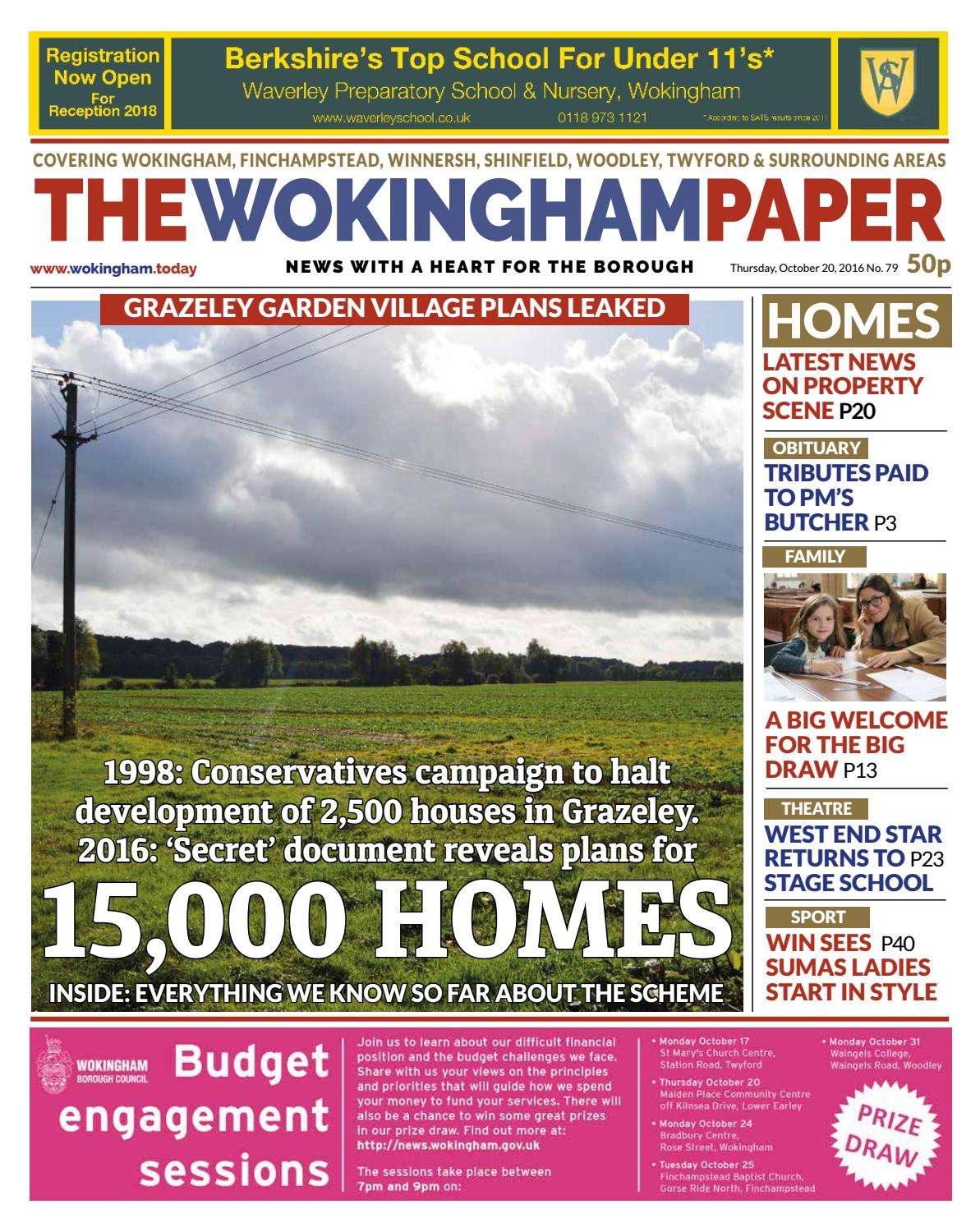 The Wokingham Paper, October 20, 2016 by The Wokingham Paper ...