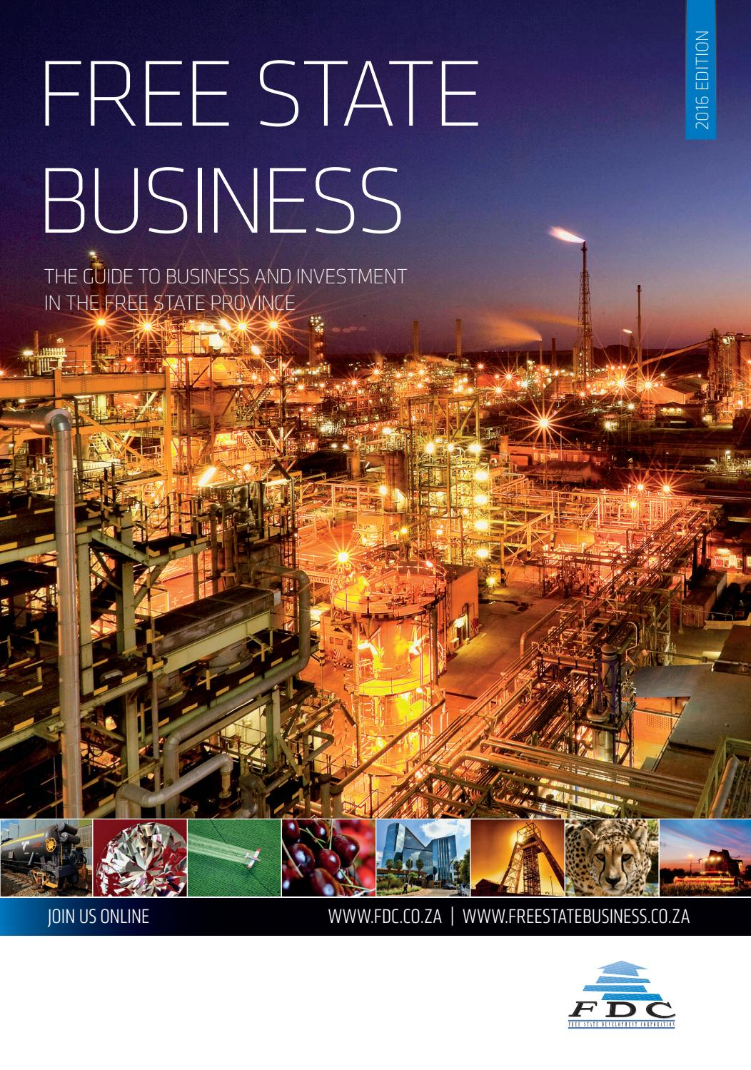 Free State Business 2016 by Global Africa Network - issuu