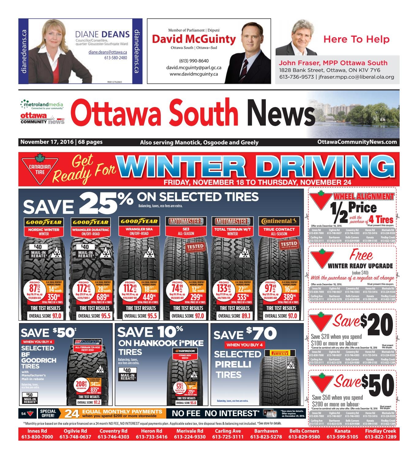 Ottawasouthmanoticknews111716 By Metroland East Ottawa South  # Le Corner Meuble Tv Blanc Led Hi Fi Integre