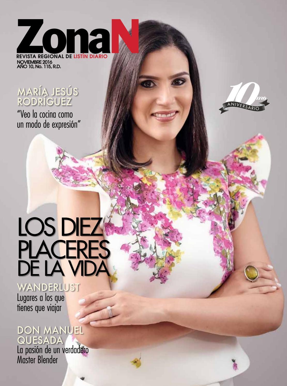 ZonaN Noviembre 2016 by Listín Diario - issuu