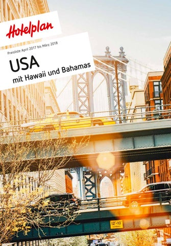 Preisliste Hotelplan USA - von April 17 bis März 18 by
