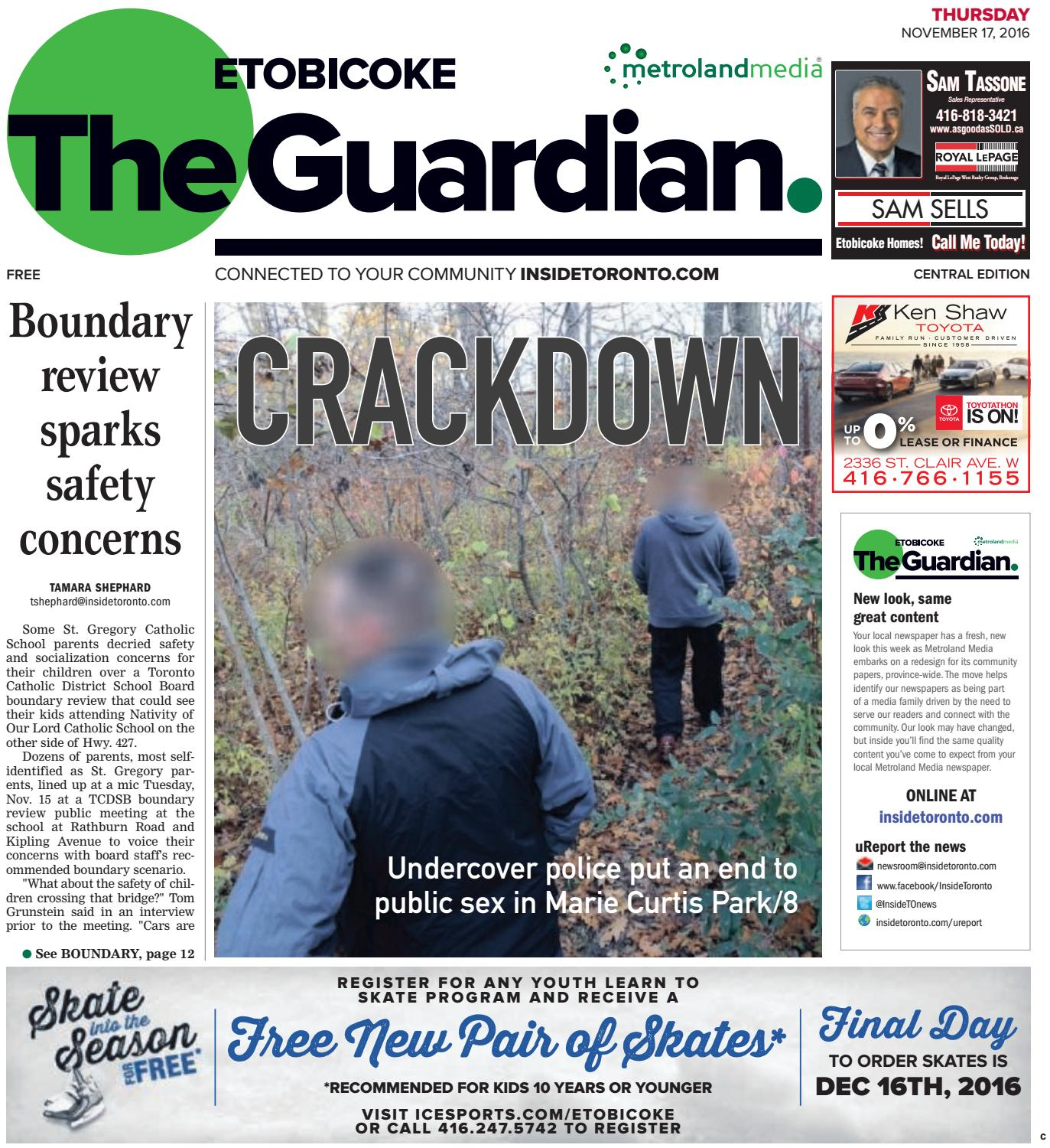 The etobicoke guardian central november 17 2016 by the etobicoke the etobicoke guardian central november 17 2016 by the etobicoke guardian issuu fandeluxe Gallery