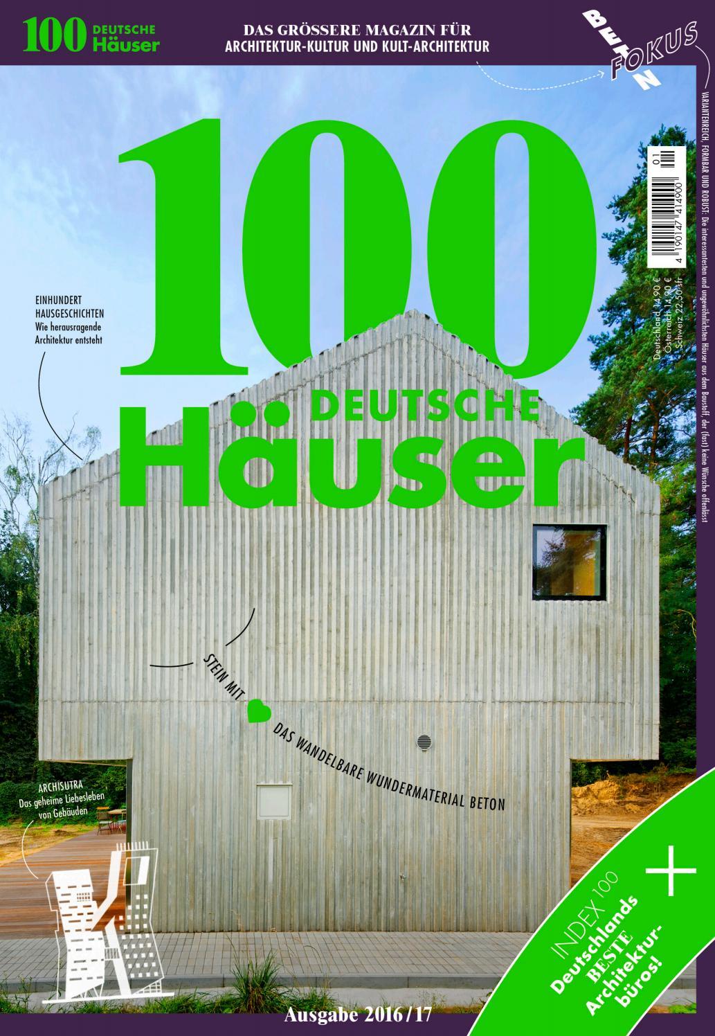 100 deutsche Häuser 2016 by 100 deutsche Häuser - issuu
