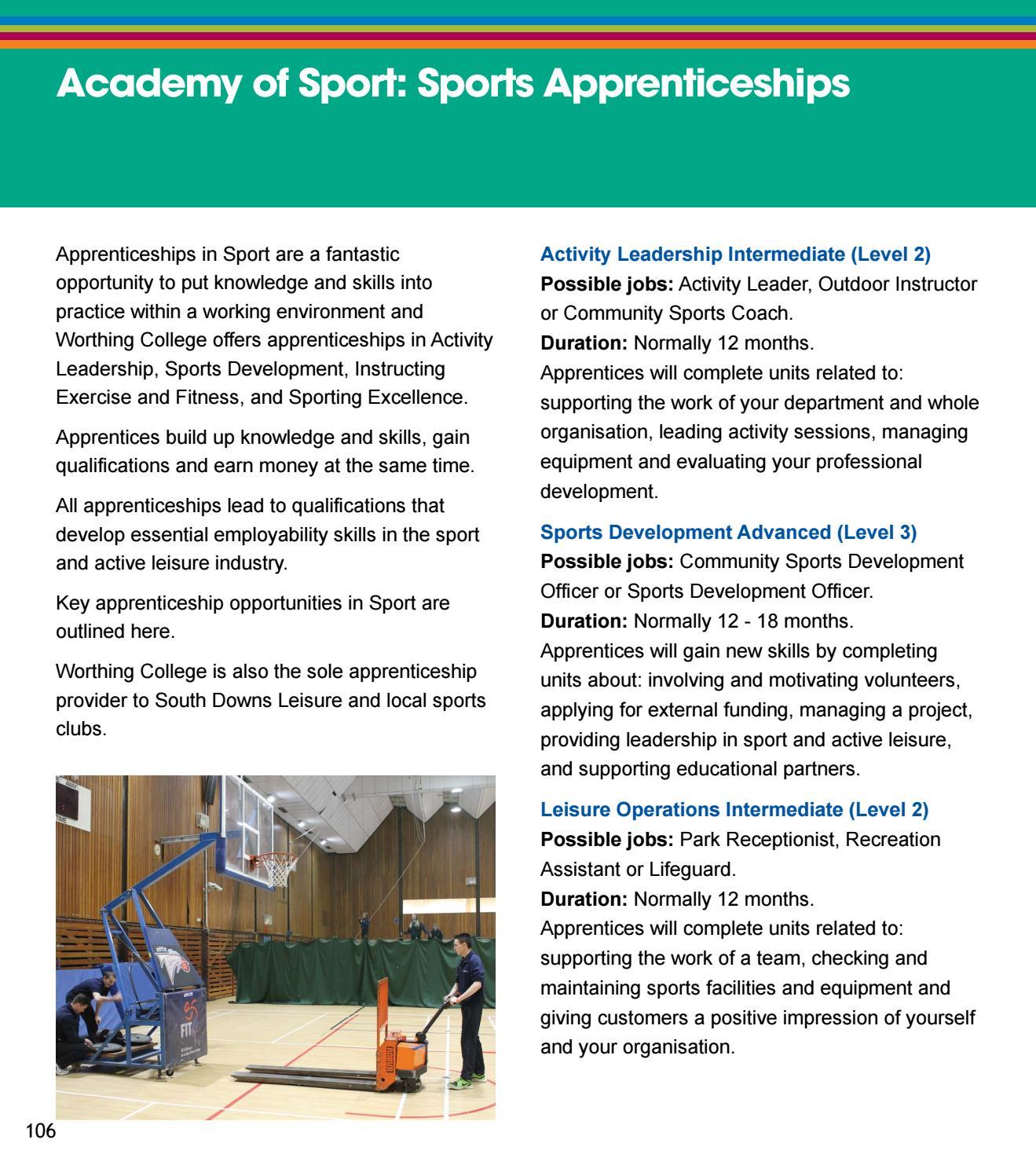 Training-Apprenticeships