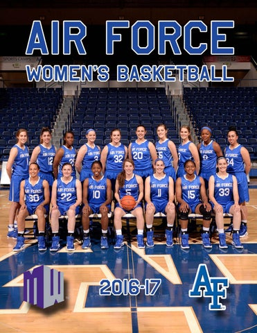 dd72359d7eb 2016-17 Air Force Women s Basketball Media Guide by Nick Arseniak ...
