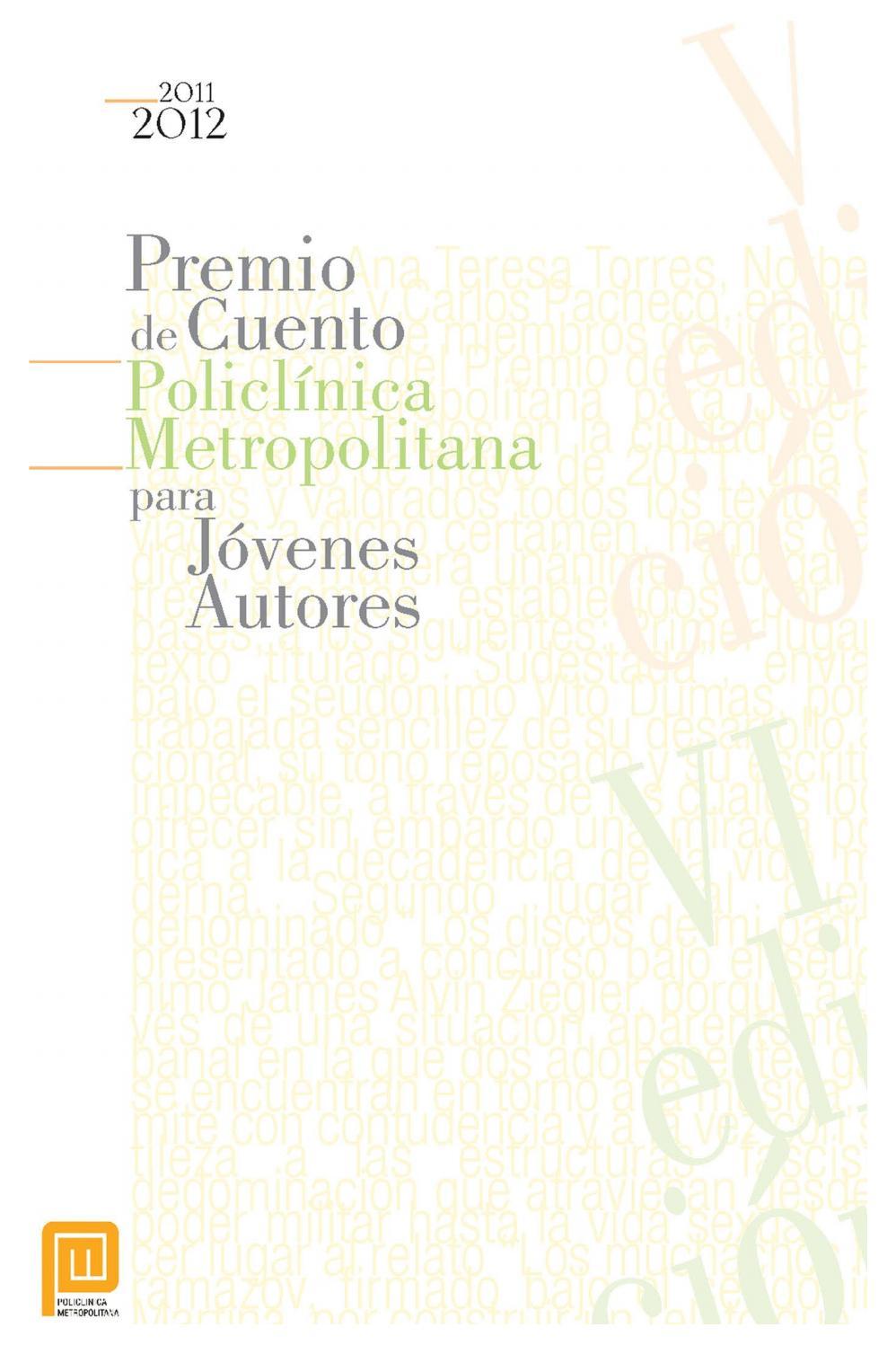 Premio de cuentos ediciones 5 y 6 by yober - issuu