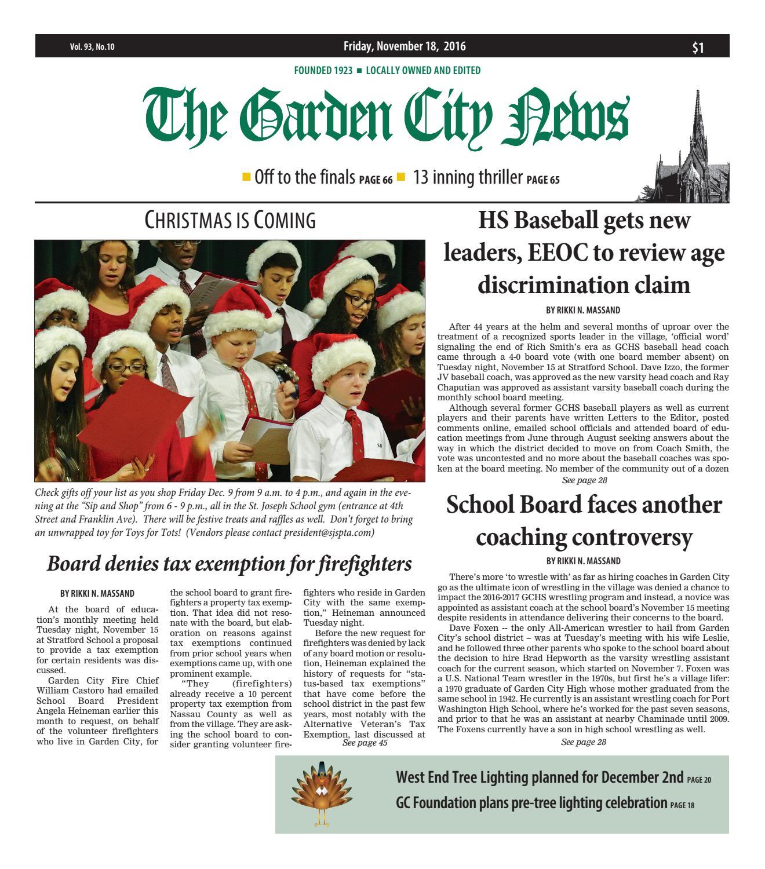 The Garden City News by Litmor Publishing issuu