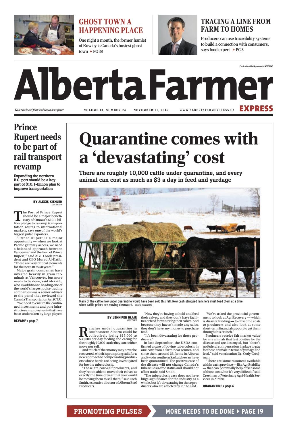 Alberta Farmer Express By Farm Business Communications Issuu The Fourwire Electric Fence System Allows Landowners To Control Deer