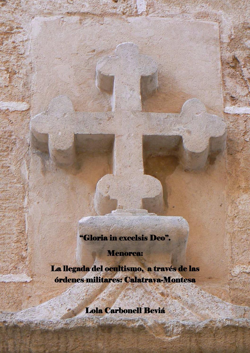 Gloria In Excelsis Deo Menorca La Llegada Del Ocultismo A Trav S  # Muebles Mezquita Alcanices