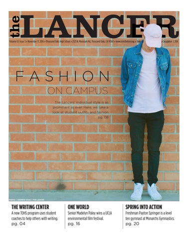 e446b450 Issue 3, 2016-2017 by The Lancer - issuu