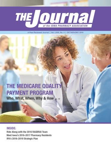 IPA Journal - Oct/Nov/Dec 2016 by Iowa Pharmacy Association - issuu
