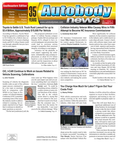December 2016 Southeastern Edition by Autobody News - issuu