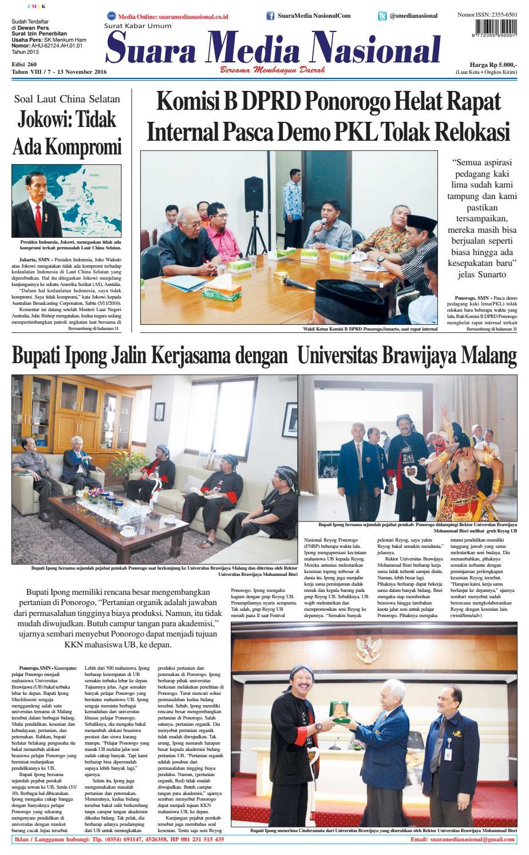 Suara Media Nasional Edisi 260 By Suara Media Nasional Issuu