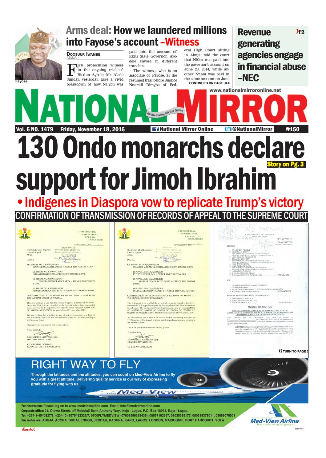 FRIDAY'S E-Mirror Online by GLOBAL MEDIA MIRROR LIMITED - issuu