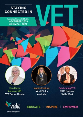 Staying connected in vet ezine november 2016 volume 8 by velg page 1 fandeluxe