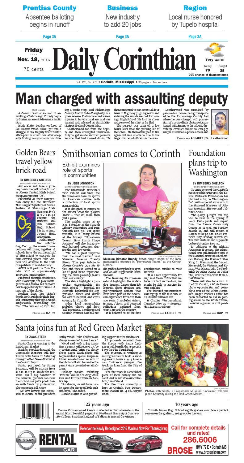 111816 daily corinthian e edition by Daily Corinthian - issuu 127ed1348bdb6