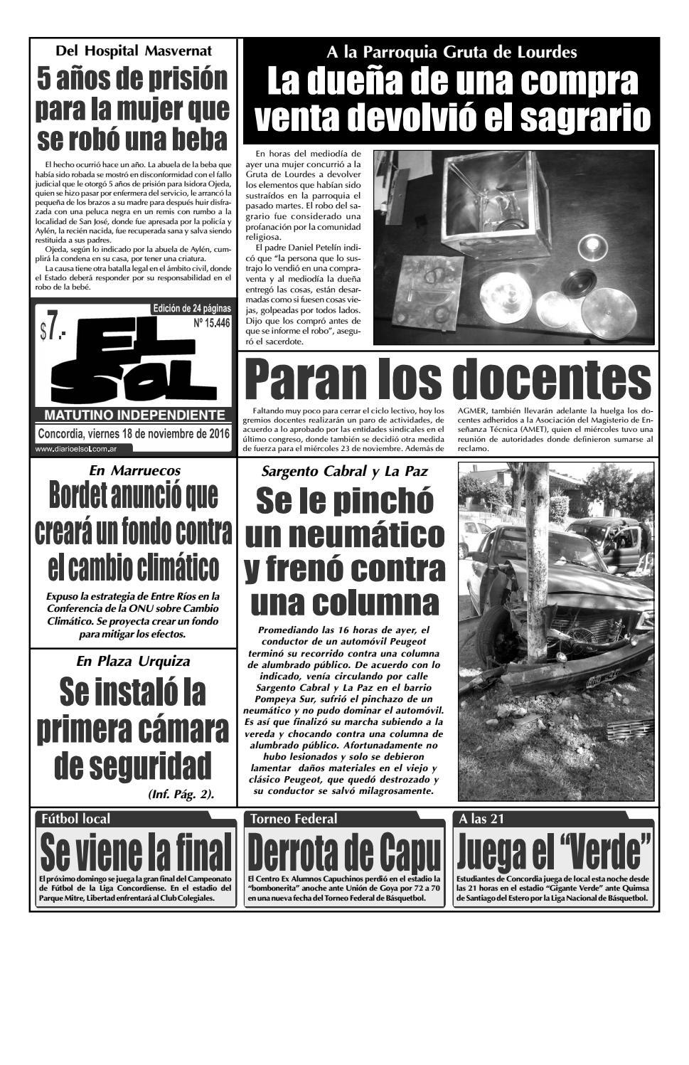 f8b7ab82a Diario El Sol (Viernes 18 noviembre 2016) by Diario El Sol - issuu