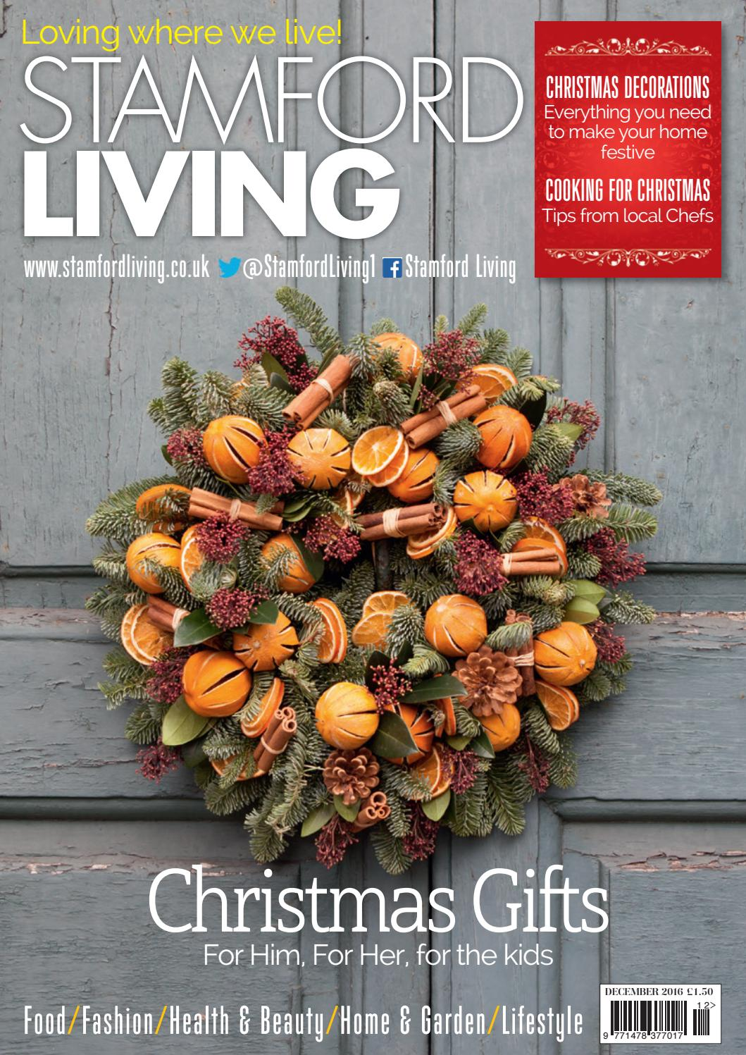 380d67fb500 Stamford Living December 2016 by Best Local Living - issuu