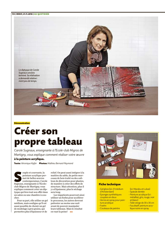 Migros Magazin 47 2016 F Bl By Migros Genossenschafts Bund Issuu