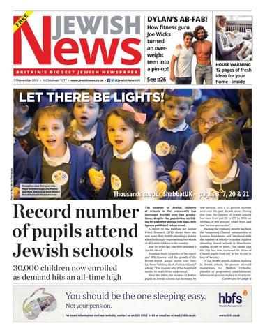 Jewish news issue 977 by jewish news issuu page 1 fandeluxe Images