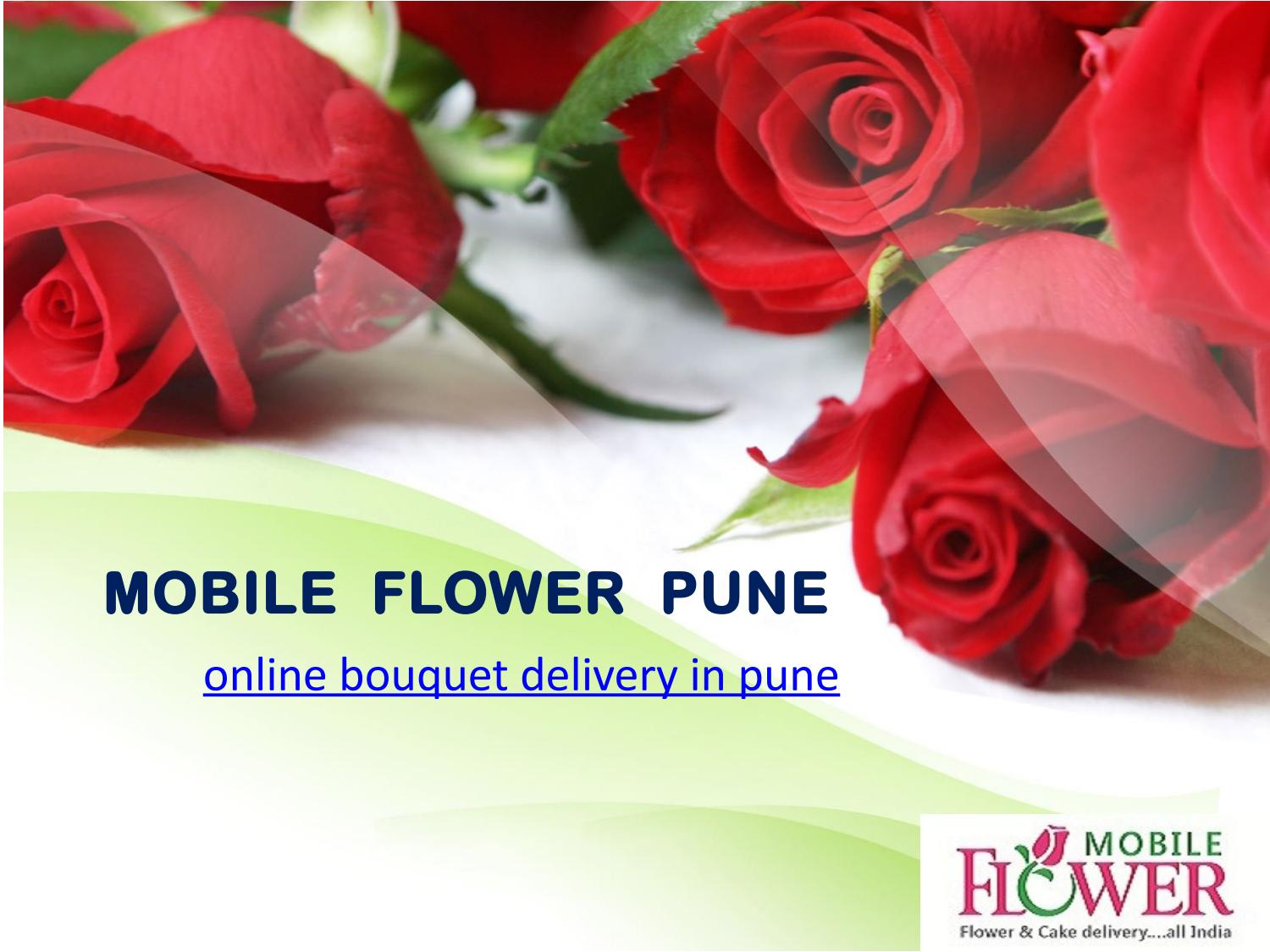 Online bouquet delivery in pune by mobile flower pune issuu izmirmasajfo