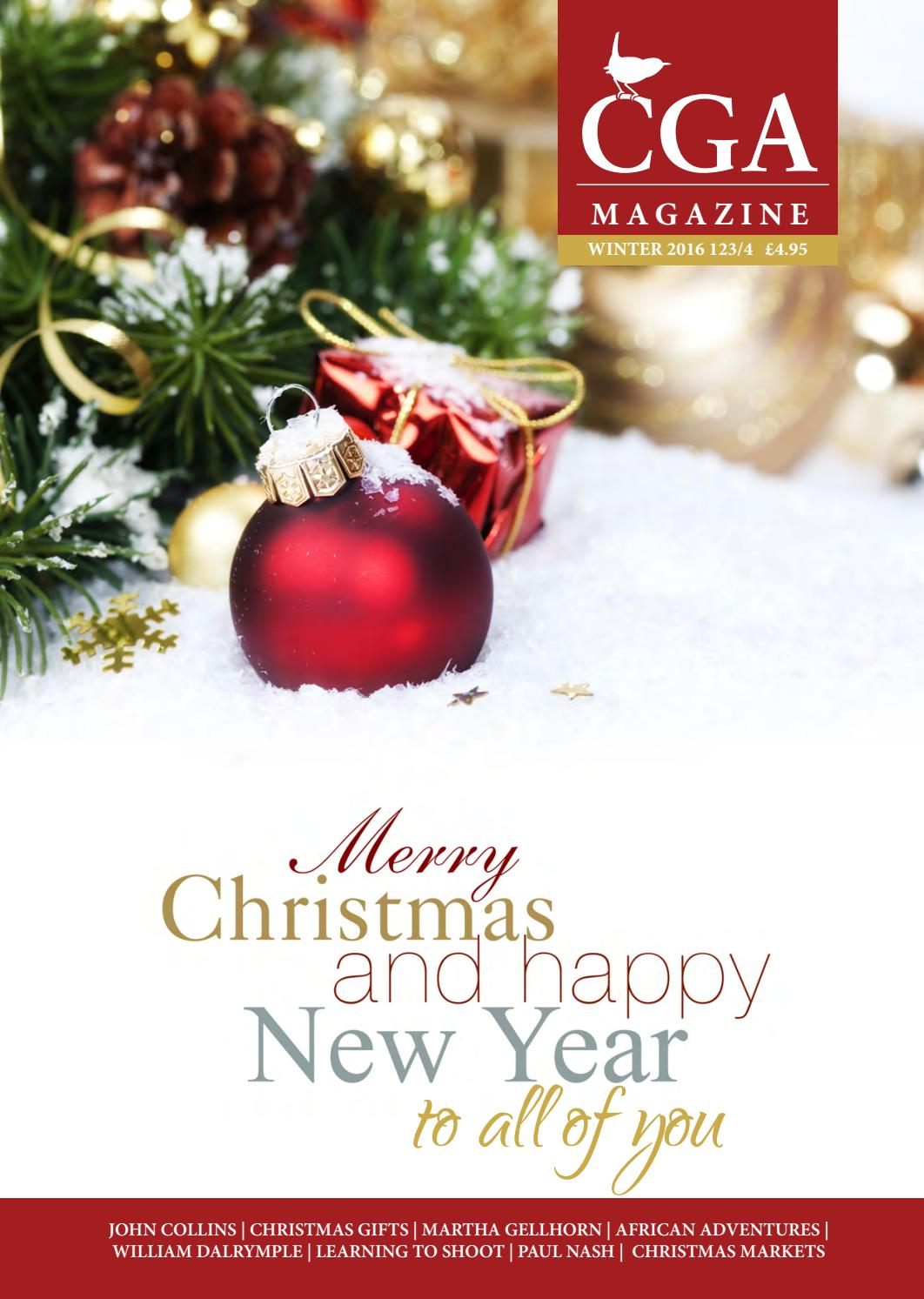 CGA Winter 2016 magazine by The CGA - issuu